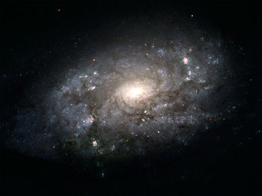 Hubble photo of Galaxy NGC 3949
